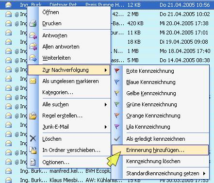Download Outlook: Outlook-Erinnerung