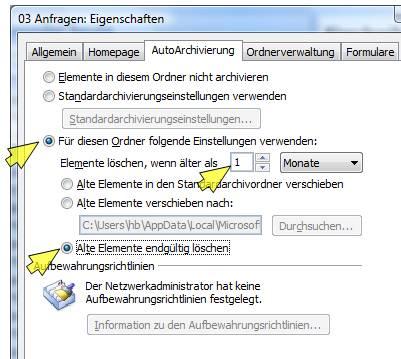 emailorganisation outlook
