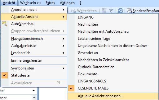 Ansichten In Ms Outlook So Einfach Und So Effektiv