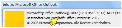 outlook versionen