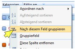 outlook ansichten
