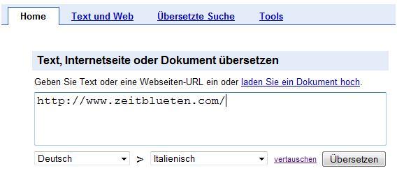 google übersetzer