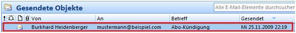 mails manipulieren