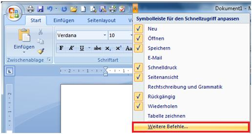 outlook adressen in word