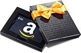 Amazon-Box mit Geschenkkarte