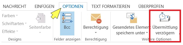 Outlook_2013-zeitverzoegert